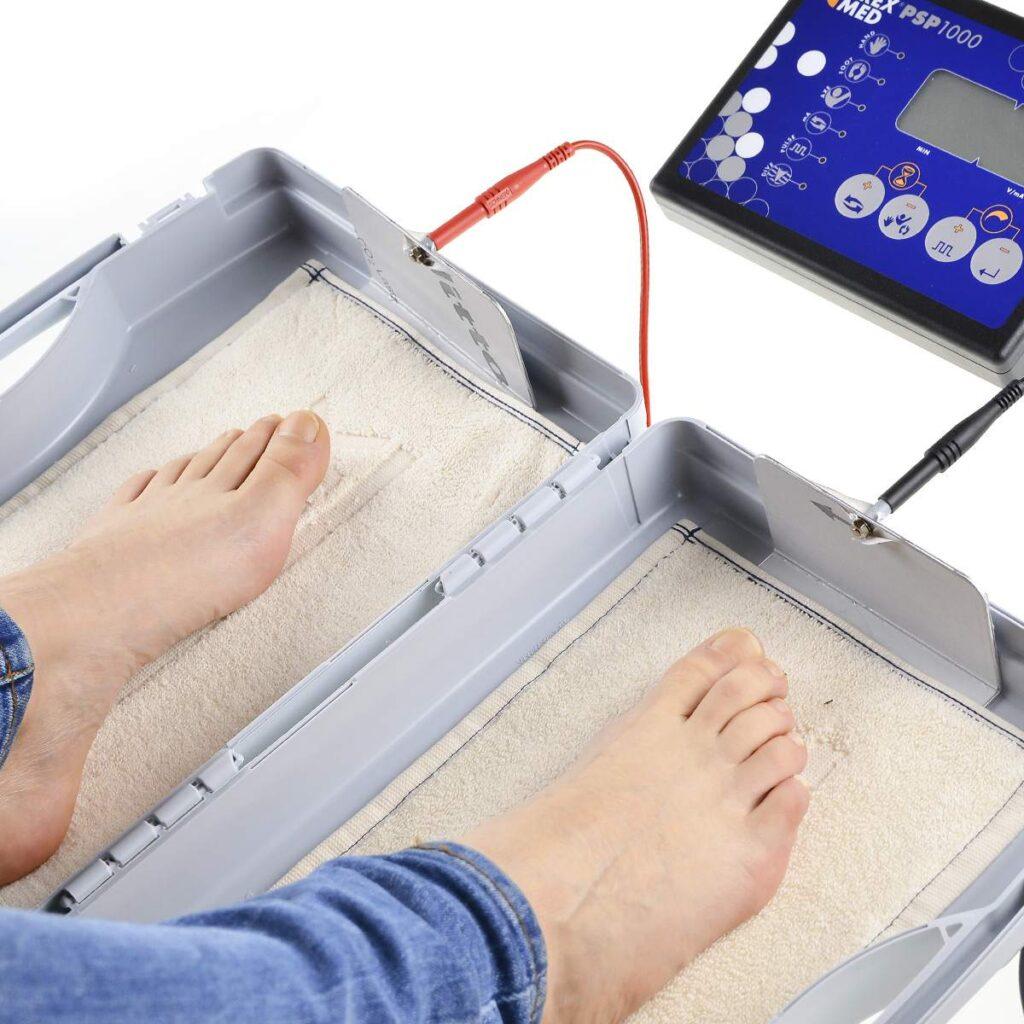 Jonoforeza na leczenie nadpotliwości, czy terapia jonoforeza działa, jonoforeza na stopy, jonoforeza, nadpotliwość, leczenie nadpotliwości