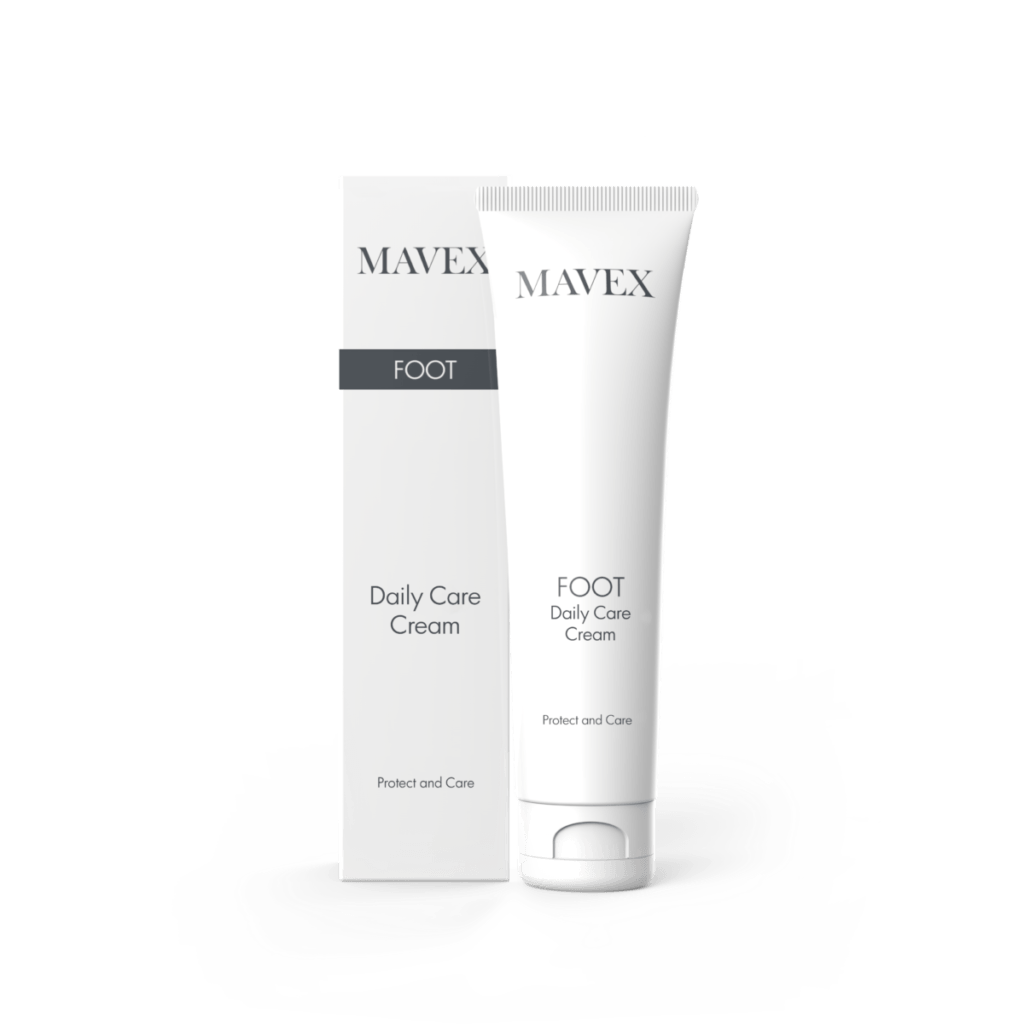 mavex Foot Daily Care Cream frontale con scatola