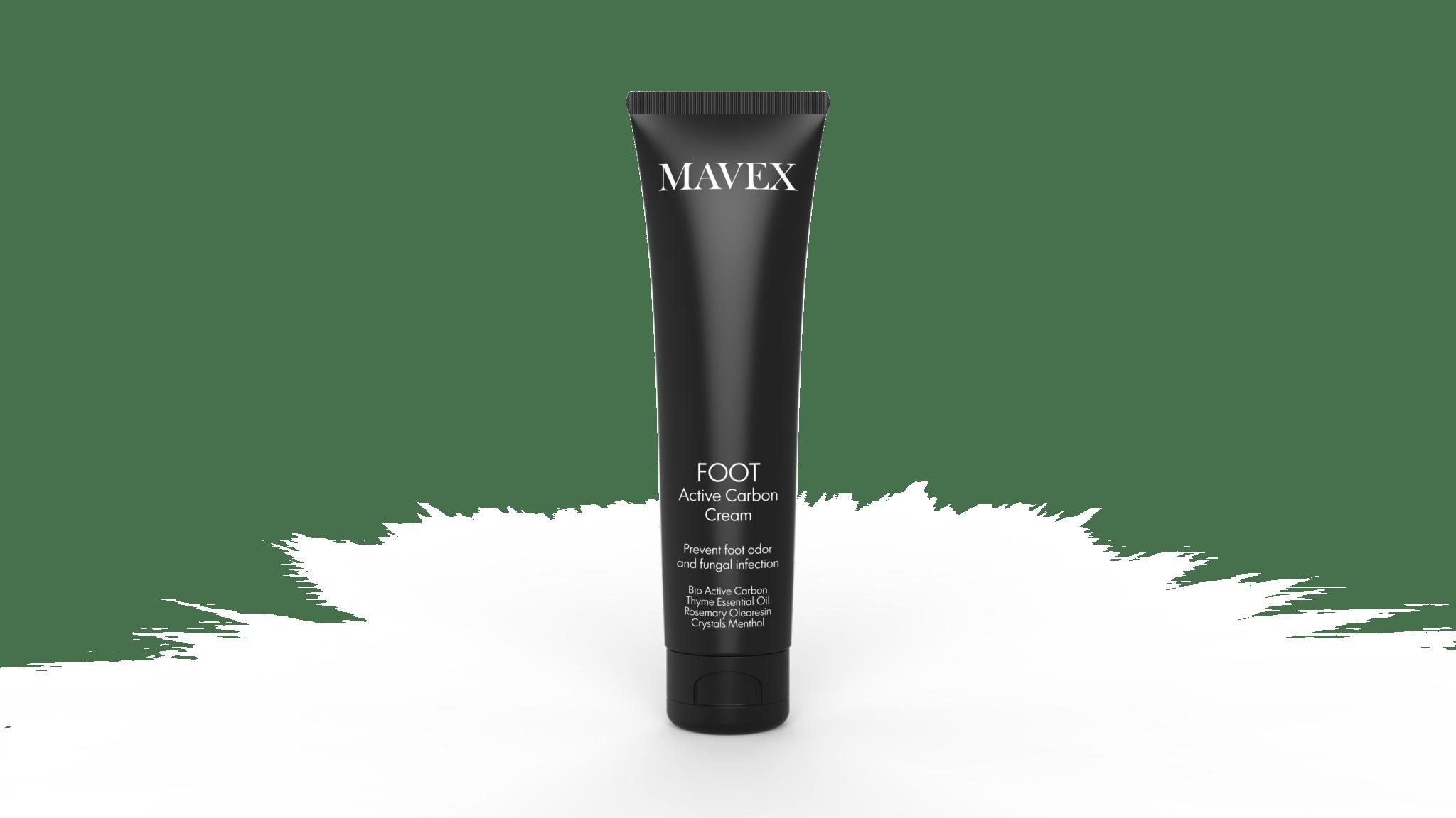 mavex foot daily cream carbon active