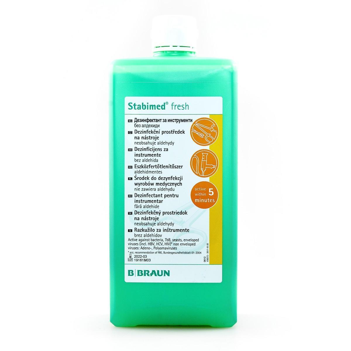 new8 - Stabimed® fresh 1l mycie i dezynfekcja narzędzi termostabilnych i termolabilnych