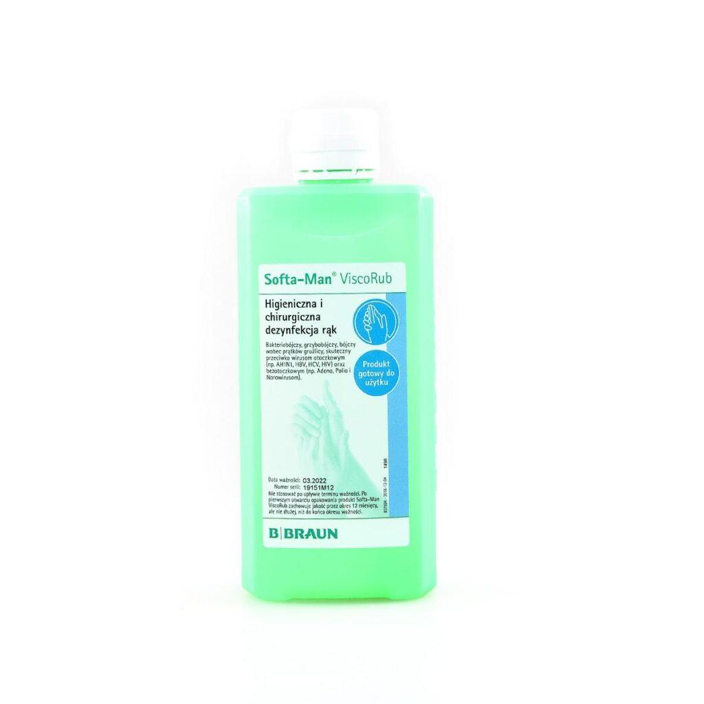 new9 1024x1024 - Softa® Man Visco Rub 500 ml Żel do dezynfekcji rąk o wrażliwej skórze