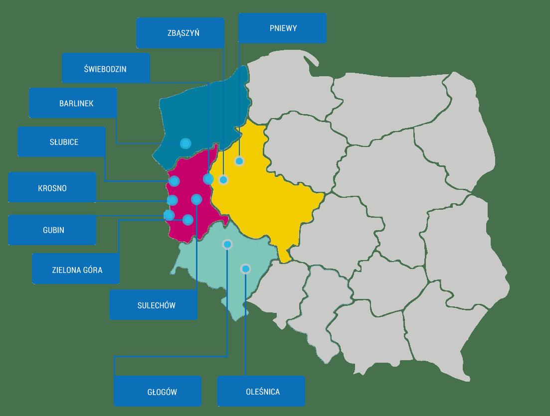 mapa gabinetow 2 - Partnerskie gabinety